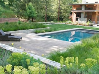 Neue Perspektive gestalten. Moderne Pools von Ecologic City Garden - Paul Marie Creation Modern
