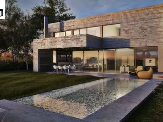 Casas de estilo  por A + R  , Moderno