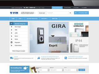 Unser Online Shop:  Wände von VVM GmbH