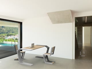 Stół Gravity: styl , w kategorii  zaprojektowany przez Modern Line