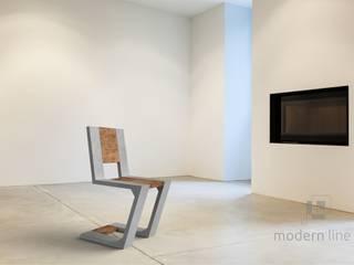 Krzesło Gravity: styl , w kategorii  zaprojektowany przez Modern Line