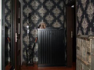 現代風玄關、走廊與階梯 根據 ER DESIGN 現代風