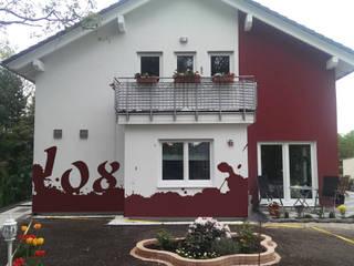 de Wandgestaltung Graffiti Airbrush von Appolloart
