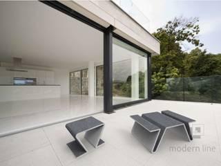 Stołek Focus: styl , w kategorii  zaprojektowany przez Modern Line