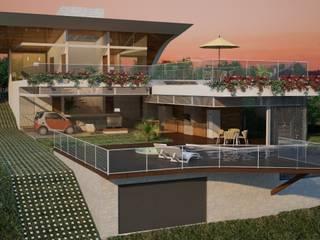 Casa W.A - Contagem - MG Casas modernas por Vale Arquitetura Moderno