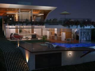 Casa W.A - Contagem - MG: Casas  por Vale Arquitetura,