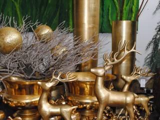 Haedi-Flor Meisterbetrieb HouseholdAccessories & decoration Metal Amber/Gold