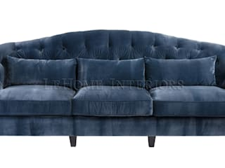 LeHome Interiors Living roomSofas & armchairs Wood Blue