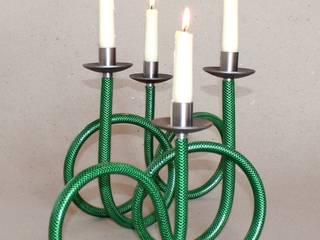 Kerzenspirale Grün:   von BeGoArt