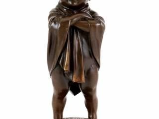 Art Nouveau Bronze - Rascal - Child Bronze - Sign. Lorenzl:   by Art Bronze Sculptures