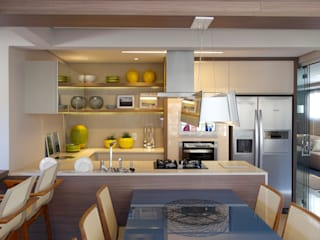 Modern Mutfak Amanda Carvalho - arquitetura e interiores Modern