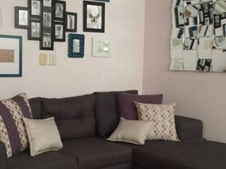 Salones de estilo moderno de Paola Hernandez Studio Comfort Design Moderno