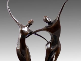 Contemporary Sculptures for Sale: modern  by Kunst & Ambiente - Bronzefiguren / Skulpturen Manufaktur, Modern