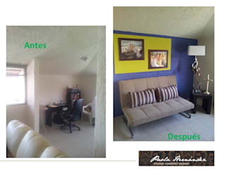 Casas de estilo moderno de Paola Hernandez Studio Comfort Design Moderno