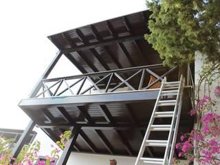 Modern balcony, veranda & terrace by AÇIT MİMARLIK DEKORASYON İNŞ. SAN. TİC. LTD. Modern