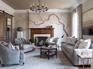 Paredes y suelos de estilo moderno de Dreams Wallpapers & Fabrıcs Moderno