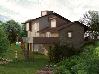Maisons rurales par Architetto Alboini Maria Gabriella Rural