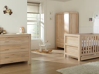 Miland 3 Piece Room Set -  Reclaimed Oak:   by Tutti Bambini