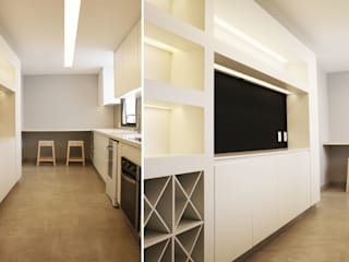 Modern kitchen by blaanc Modern