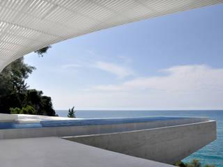House H, GR: mediterraner Pool von buerger katsota zt gmbh