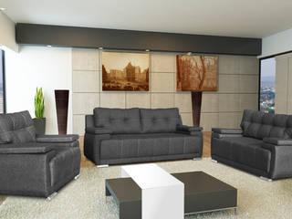 Salas:  de estilo  por Vicenza Muebles,