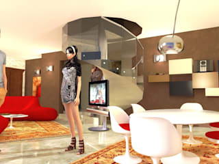 Interiors in Tuscany Planet G Modern living room