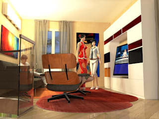 Interiors in Tuscany Planet G Modern media room