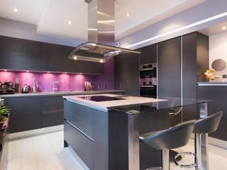 LA CUISINE DANS LE BAIN SK CONCEPT Eclectic style kitchen