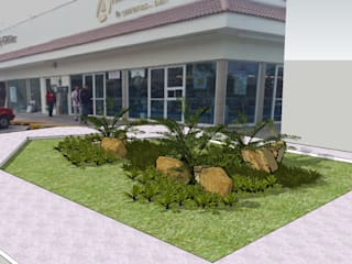 DISEÑOS PAISAJISMO: Jardines de estilo topical por Tropico Jardineria