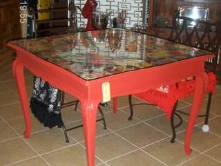 Mesa de jantar por Restauro em Sintra Eclético