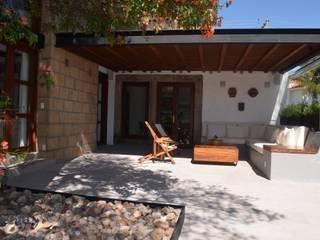 Villanueva Fernandez Arquitectos Terrace Wood Wood effect
