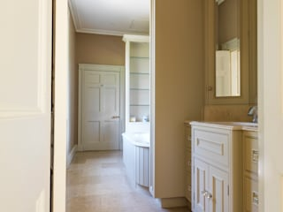 Near Bath, Somerset Guest Bathroom designed and made by Tim Wood by Tim Wood Limited Класичний
