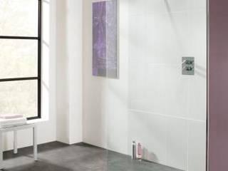 Coastline Collection - Frameless walk-in shower enclosures Modern bathroom by Lakes Bathrooms Modern