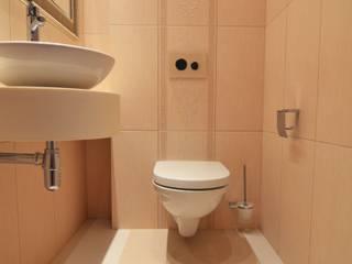 wc w beżach Klasyczna łazienka od Suare Studio Natalia Margraf-Wojciechowska Klasyczny