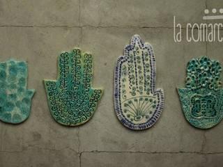 Objetos de decoración en cerámica de La comarca Moderno