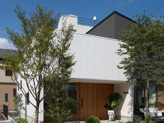 Casas minimalistas por 株式会社ブレッツァ・アーキテクツ Minimalista