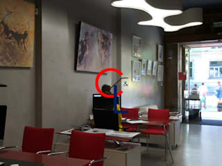 Detalles de mobiliario : Oficinas y tiendas de estilo  de Campa & Lamar Técnicos Asociados S.L.