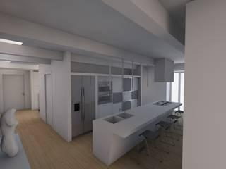 Kitchen: Cucina in stile in stile Moderno di RDstudioarchitettura - daniele russo architetto