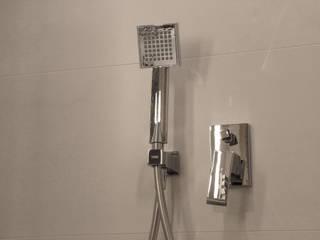 mieszkanie dla pary, 55m2, Gdańsk: styl , w kategorii Taras zaprojektowany przez Studio Projektowania doMIKOart