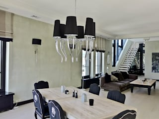 apartament eco prak: styl , w kategorii Salon zaprojektowany przez PIKSTUDIO