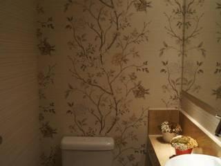 ProArq Brasil Klasyczna łazienka Papier Beżowy