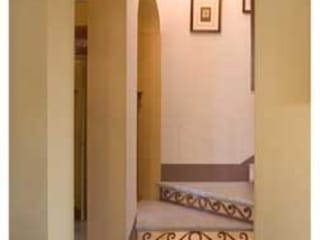 Andrea Pacciani Architetto Corridor, hallway & stairsStairs