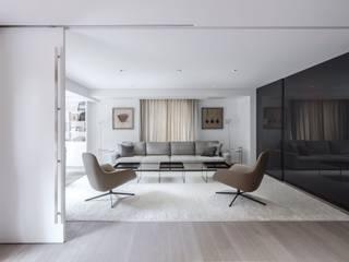 Sofa Hernández Arquitectos Salas/RecibidoresSofás y sillones Gris