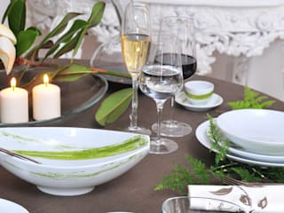 Casa Alegre Dining roomCrockery & glassware Porcelain Green