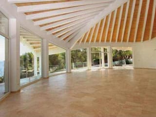 Möwenhaus von VenusArchitecture: Salones de estilo  de Stephan Wächter Venus Architecture - Bausachvertändiger Spanien