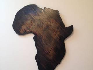 carte d Afrique:  de style tropical par Ebene Garden, Tropical