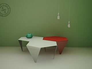 Knit&Knot Design Studio Living roomSide tables & trays