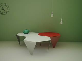 Knit & Knot Design Studio:  de estilo  por Knit&Knot Design Studio