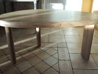 Table tabouret par les bois de lapassion Rustique
