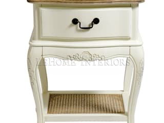 LeHome Interiors BedroomBedside tables Wood White